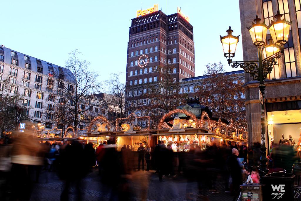 Engelchenmarkt - Little Angel Market in Düsseldorf