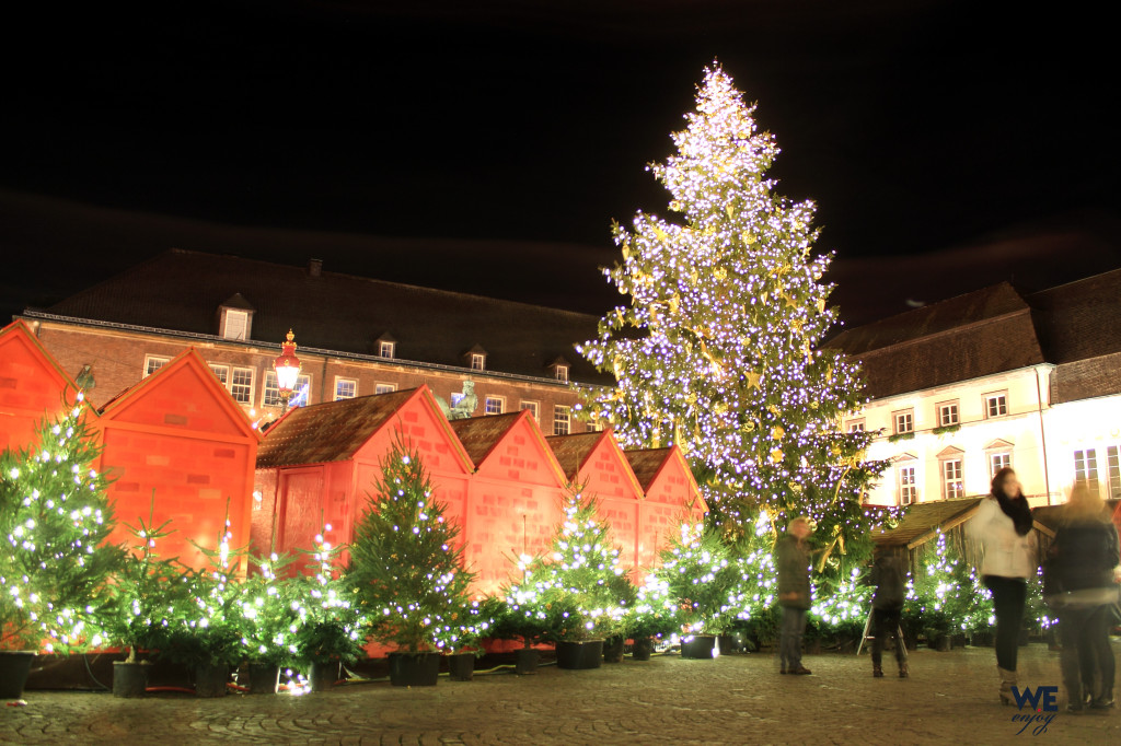 Christmas Tree at Marktplatz at Christmas Markets