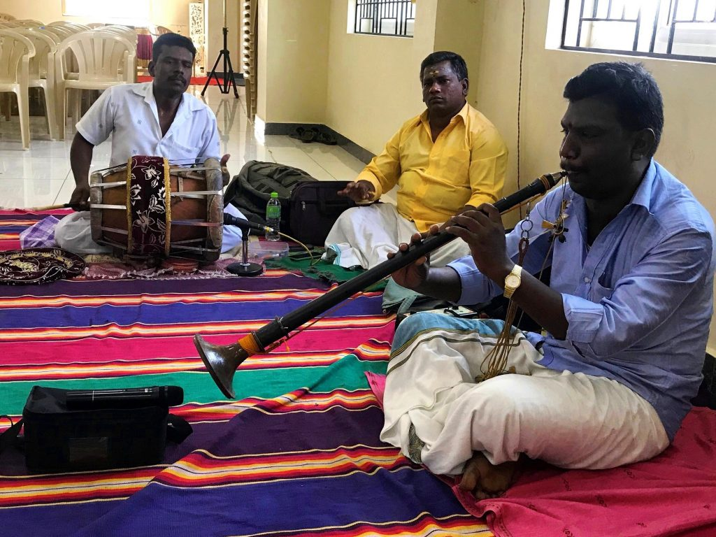 Musicians at Indian wedding