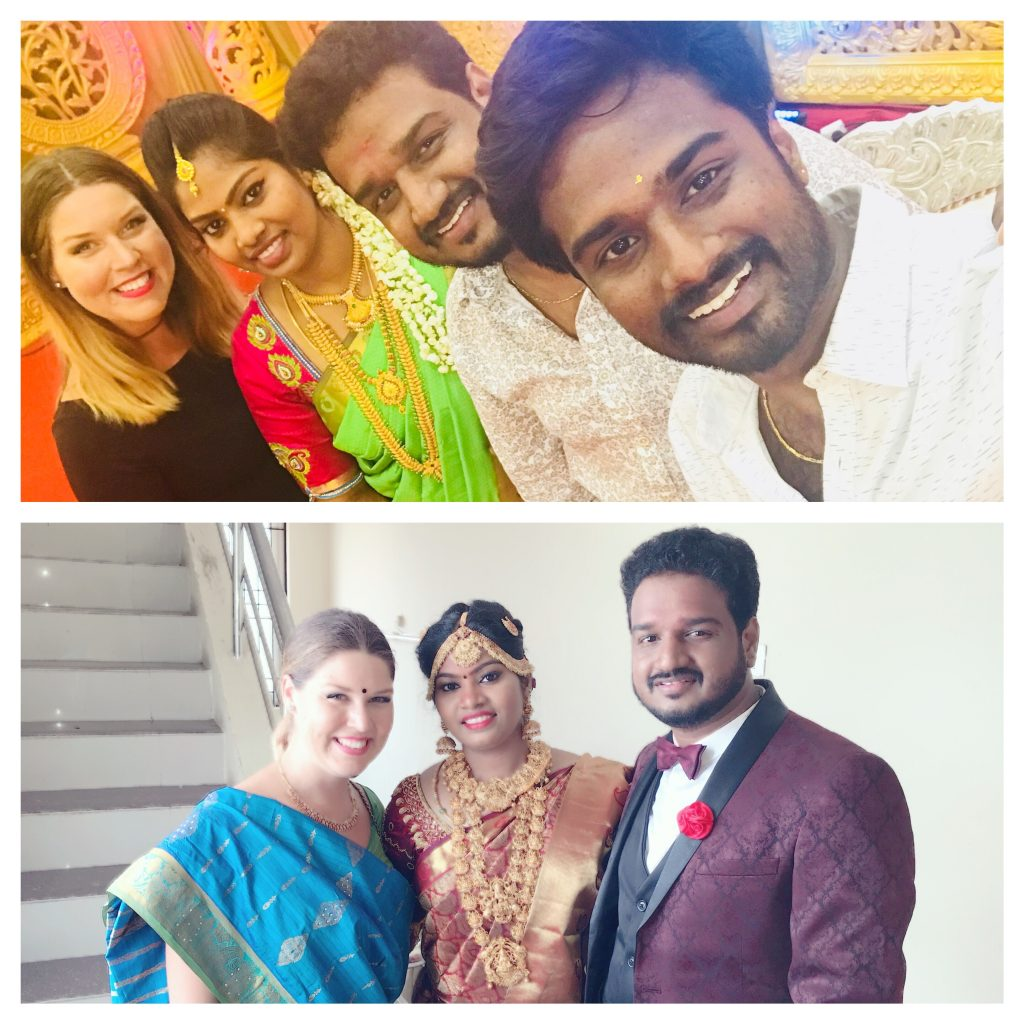 With Vasu and Fresh Marrieds